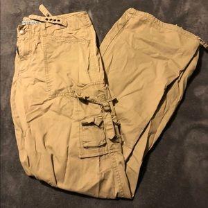Express cargo pants. Size 5/6 Dark khaki color.